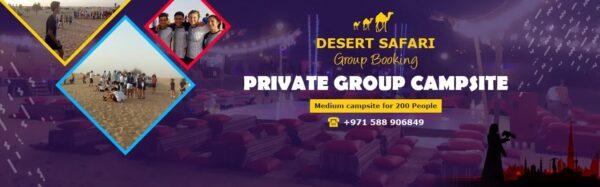 Desert Safari Group Booking - 2