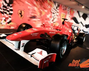 F1 Ferrari World Abu Dhabi Tour