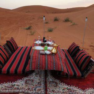 outdoor VIP Majlis desert safari