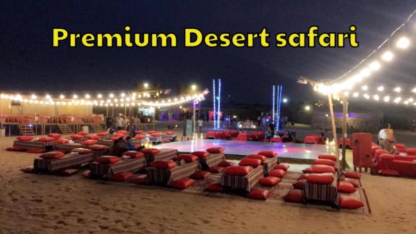 Premium desert safari Dubai - Desert Safari Dubai