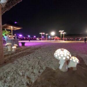 campsite interior - Desert Safari Dubai